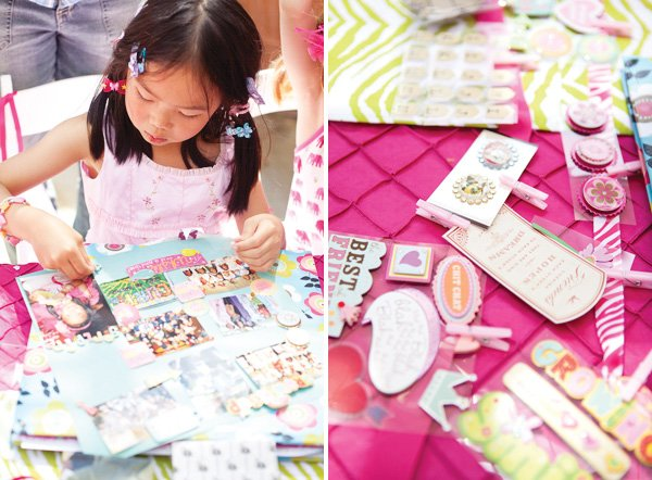 kids scrapbooking activity