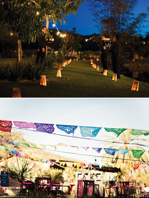 outdoor party decoration