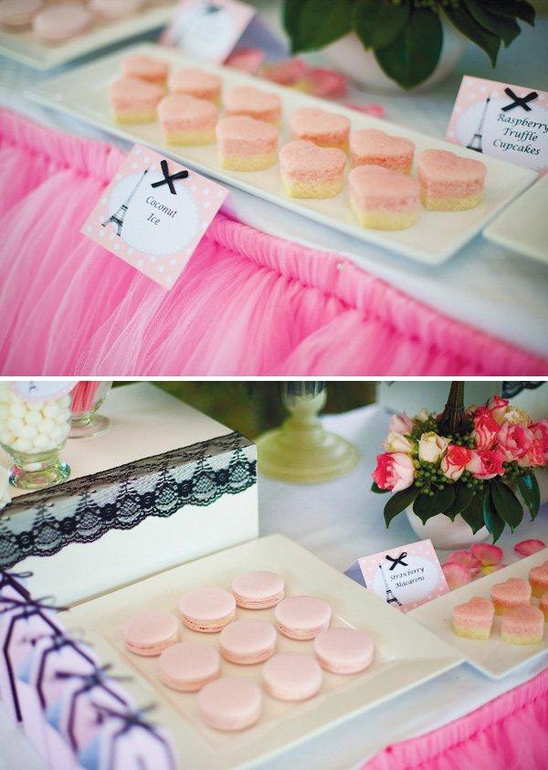 pink chic ballerina paris party
