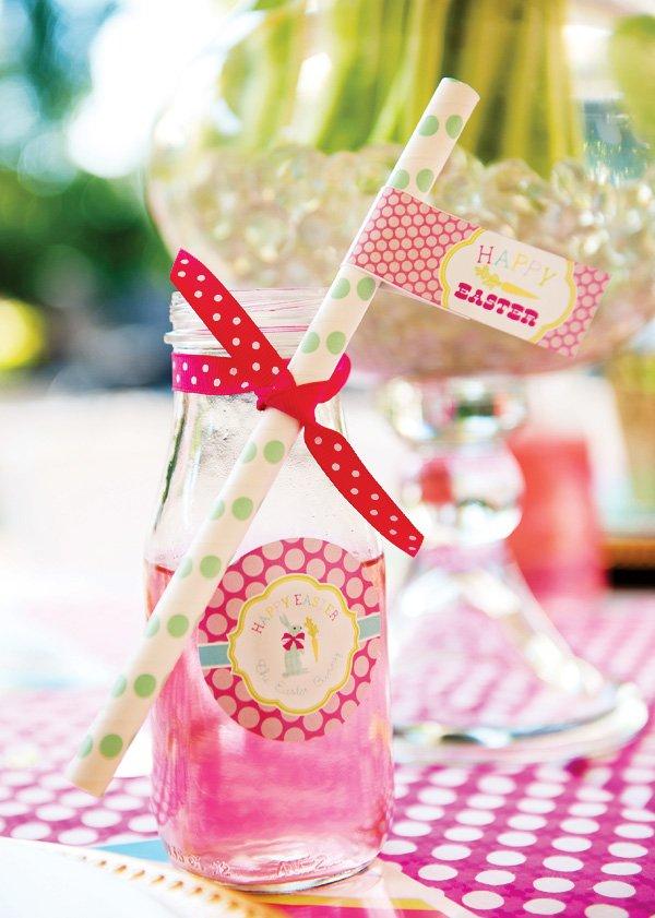 pink easter drink