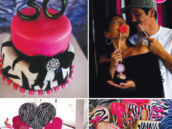 pink zebra 30th birthday party