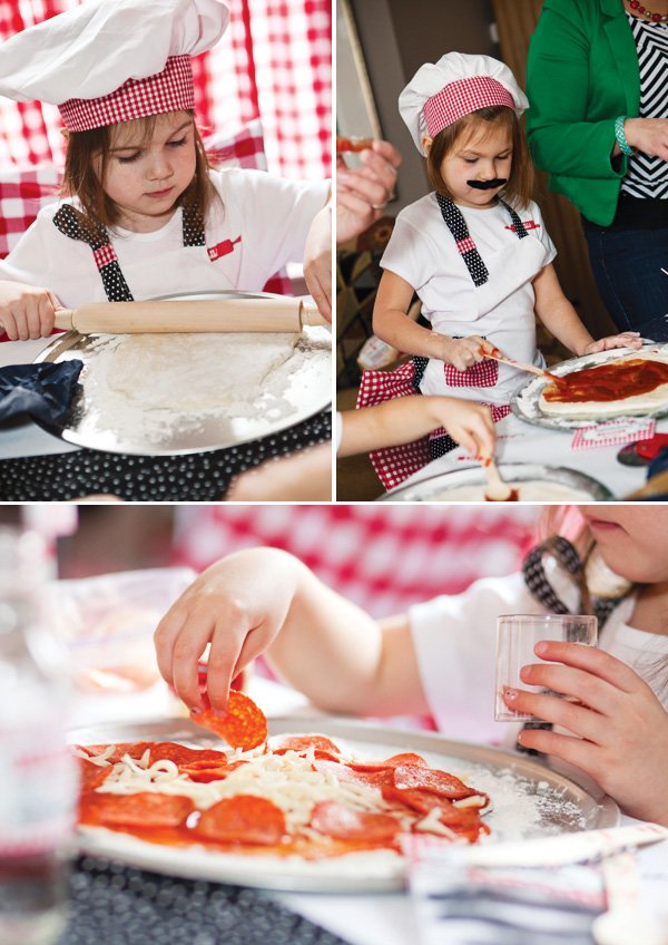 little chef pizza party