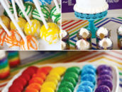 rainbow party treats