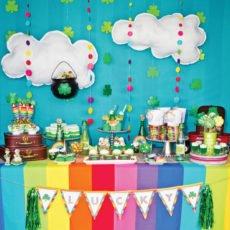 rainbow st. patrick's day party
