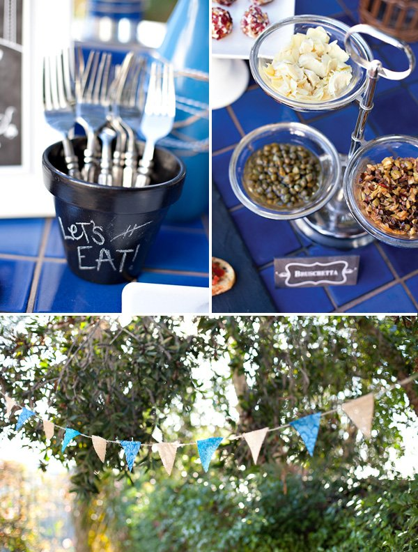 rustic wine and cheese party ideas