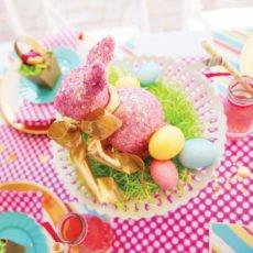 sequin easter bunny