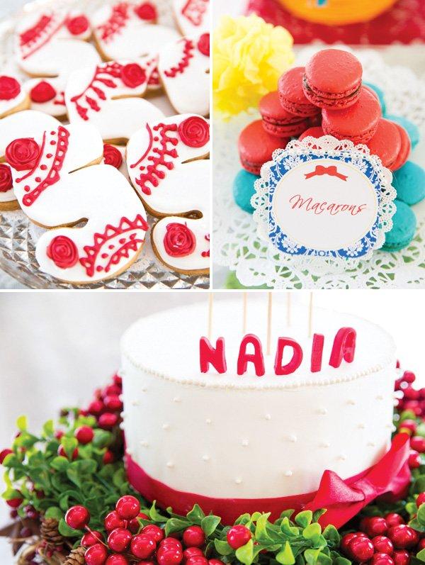 snow white desserts