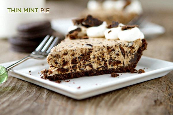 Thin Mint Pie recipe by My Baking Addiction