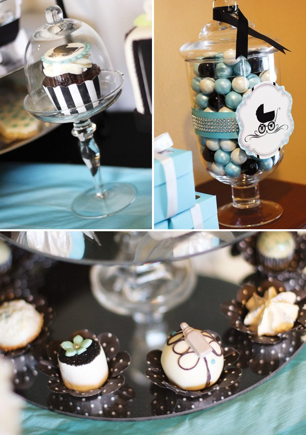 Breakfast at Tiffany's inspired desserts