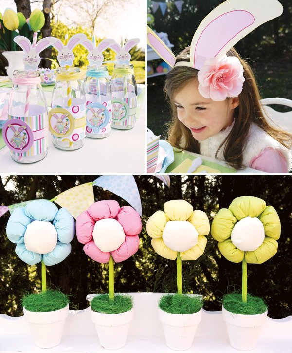 tissue paper easter flowers
