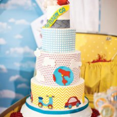 go baby go hostess with the mostess printables inspired cake by hey there cupcake