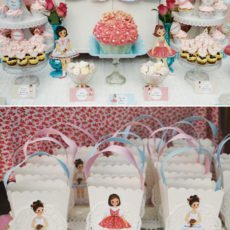 vintage paper doll party