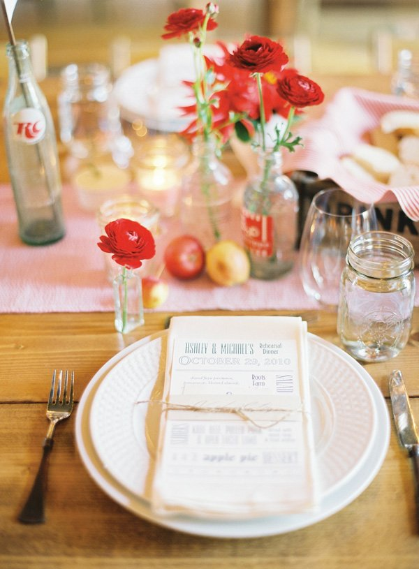 vintage state fair rehearsal dinner