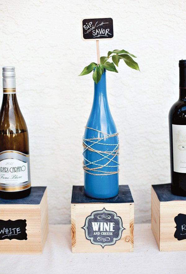 wine party ideas from hwtm