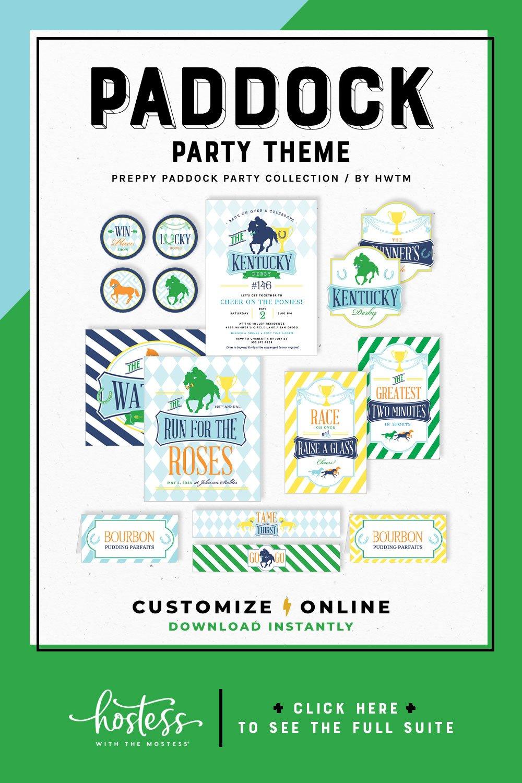 Preppy Paddock Party Printables