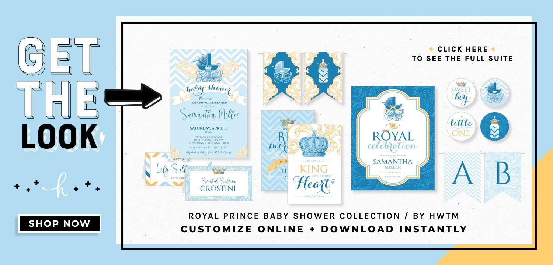 Royal Prince Printables