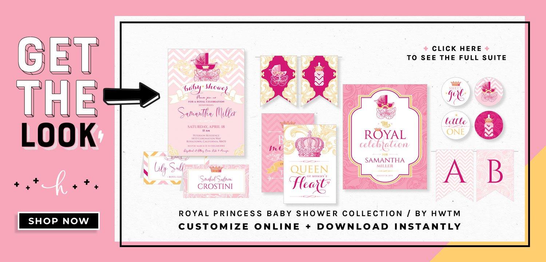 Royal Princess Printables