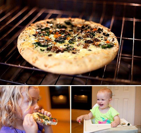 Annie's Rising Crust Pizza
