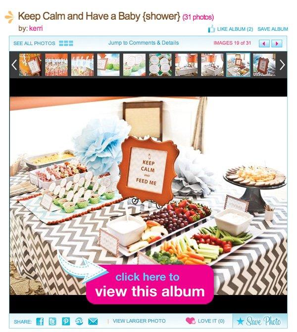 baby shower album on hwtm.com