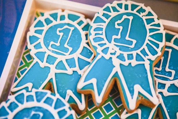 blue ribbon award cookies