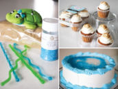 cake decorating steps