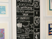 chalkboard decoration