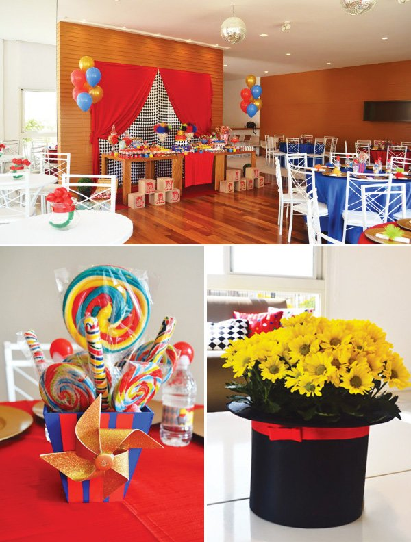Bright Amp Bold Circus Party Ideas Hostess With The Mostess 174