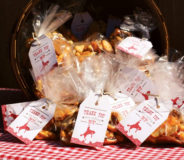 cowboy snack favors
