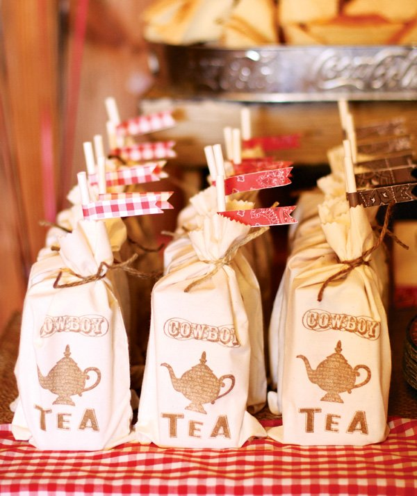 cowboy tea bag diy