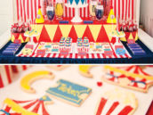 curious george circus party