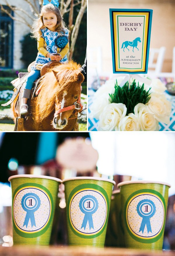 dapper derby first birthday party