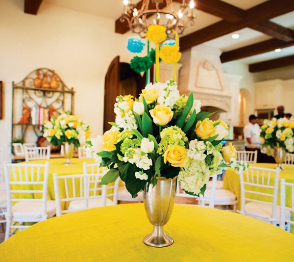 derby party centerpiece ideas