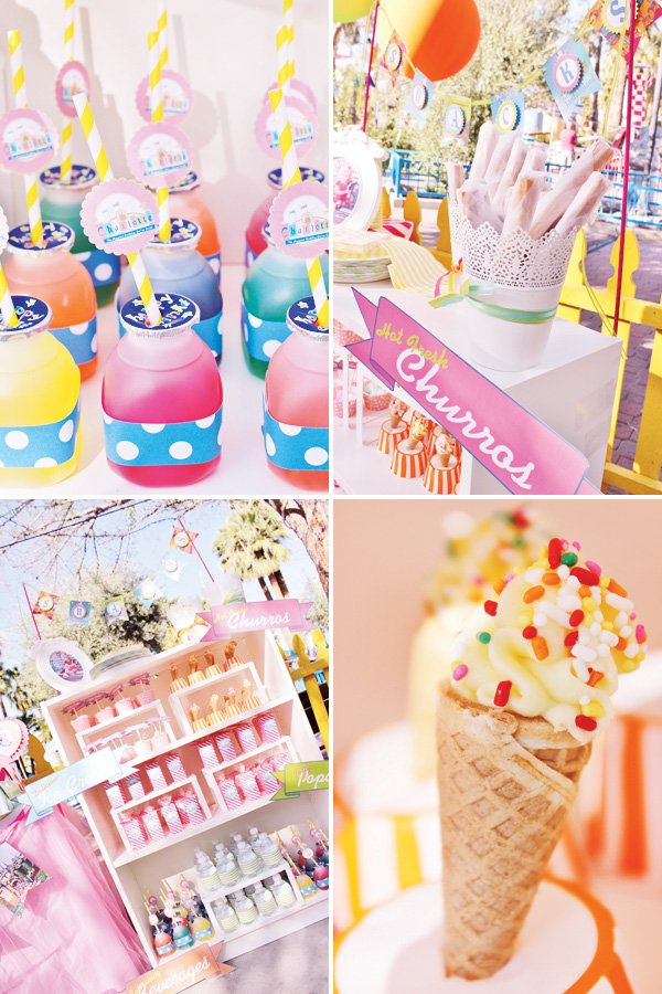 disney party snacks