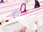 pink and purple butterfly kids table
