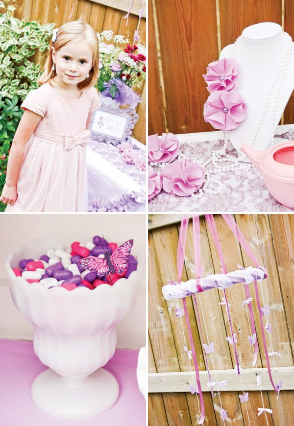 fancy nancy pink party