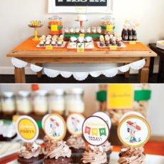 fiesta dessert table