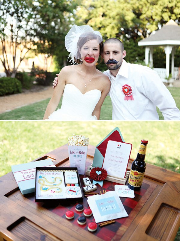 Game of Love Wedding stationery
