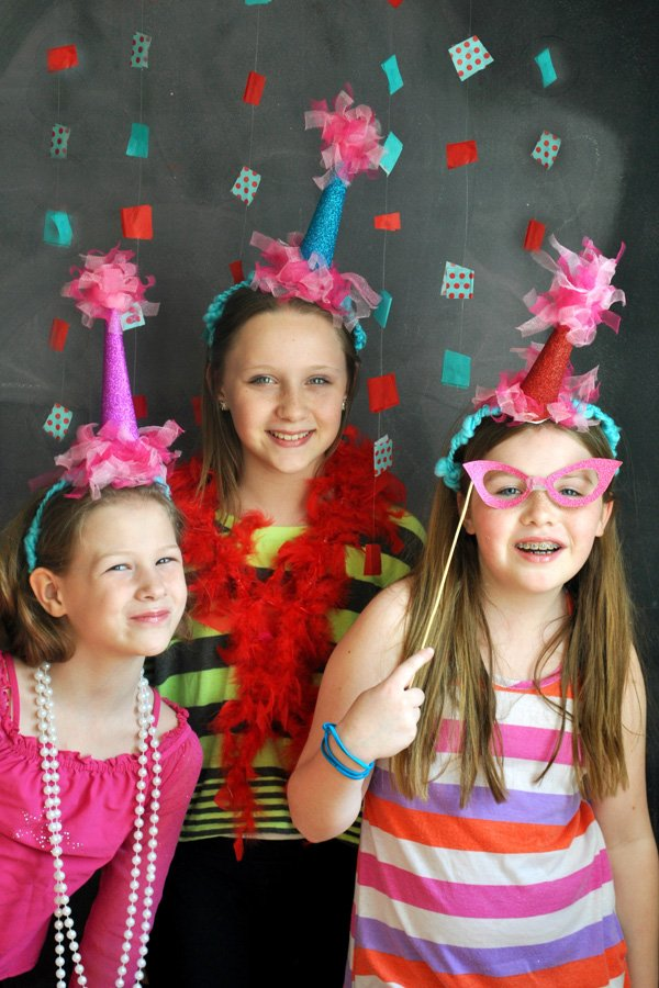 girly photo booth