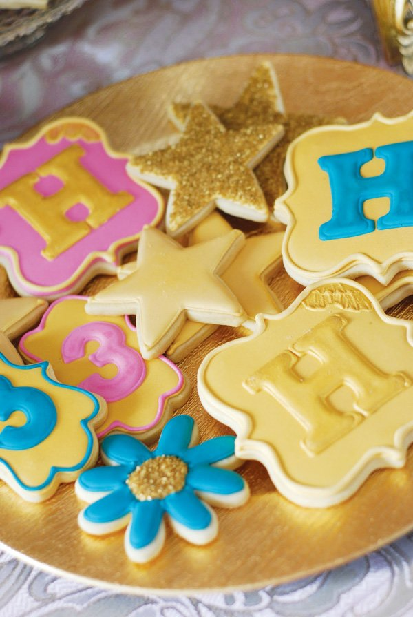 gold star cookies