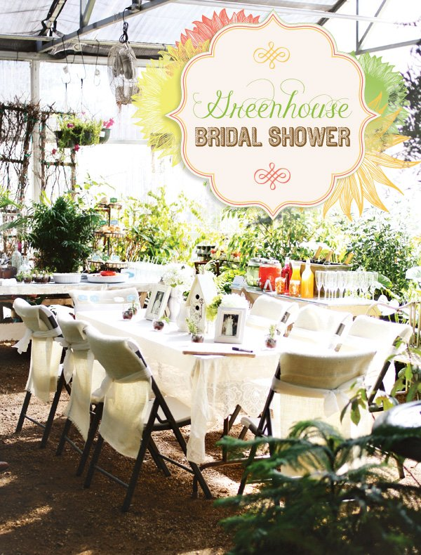 greenhouse bridal shower