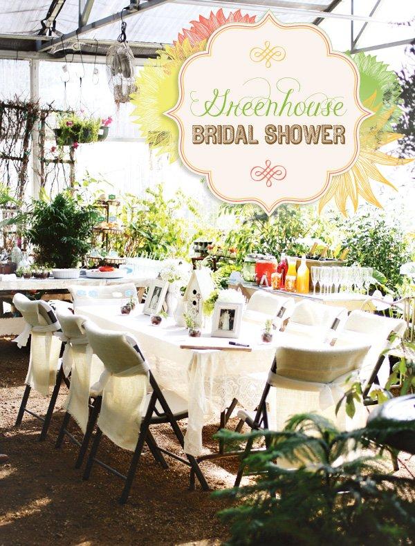 greenhouse bridal shower