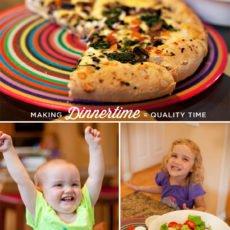 quality family time at dinner - HWTM