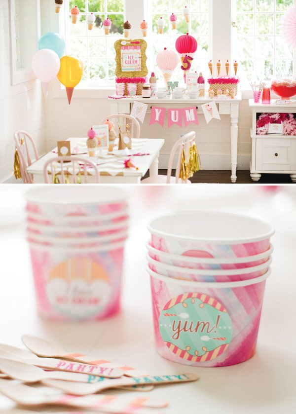 hwtm free printables for an ice cream party