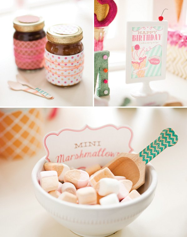 ice cream marshmallows