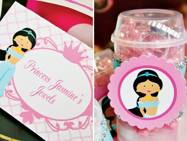 jasmine jewel party favors