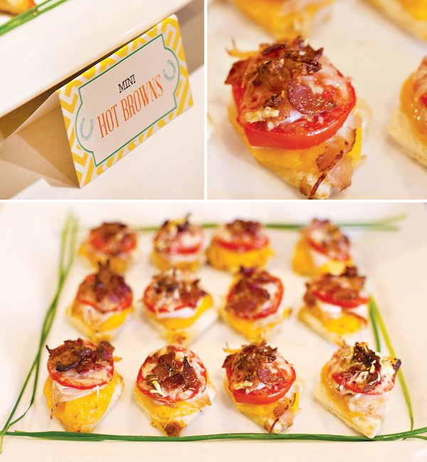 Mini Hot Browns - Derby Appetizer