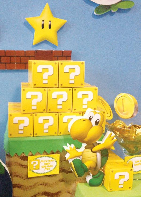 Decoration De Table Super Mario Bros