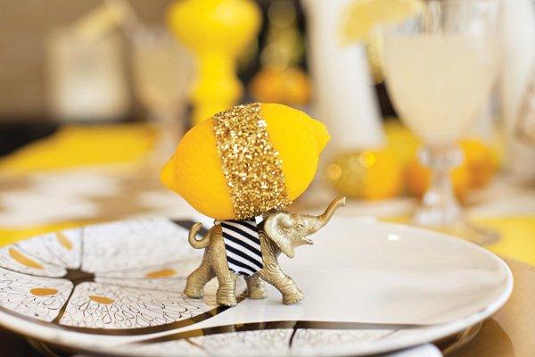 elephants and lemons