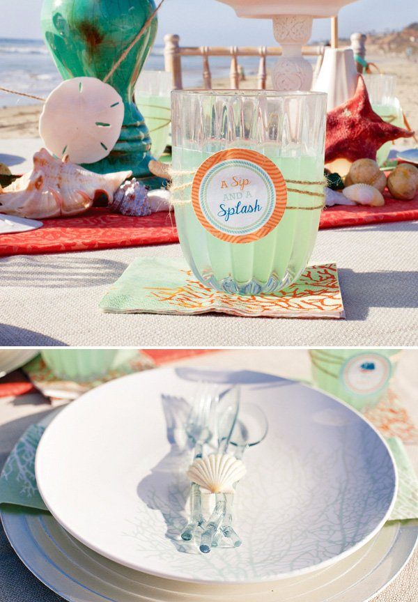 ocean inspired table - MADHOUSE Ocean Collection
