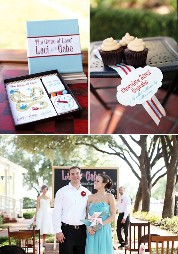 Board game wedding ideas